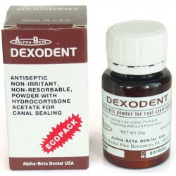 Dexodent (Дексодент) - пломбировка каналов с гидрокортизоном