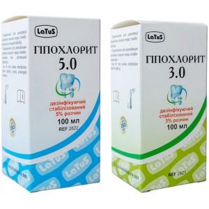 Гипохлорит натрия 3%, 5% - раствор