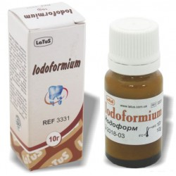 Iodoformium (Йодоформ) - бактерицидний інгредієнт.
