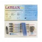 Latelux Flow Kit (Лателюкс Флоу набір) - рідкий композит, набір 4 х 2.2 гр. (ЧП Латус)