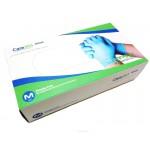 Перчатки Care365 - нитриловые, голубые, 100 шт. (Китай)